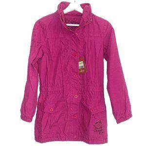 French Designer Chipie Girls Pink parka size 12
